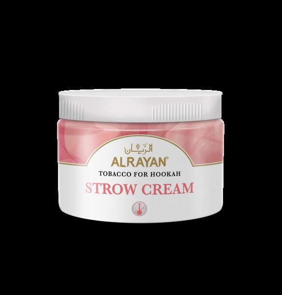 Strow Cream - Erdbeere, Sahnecreme 200g