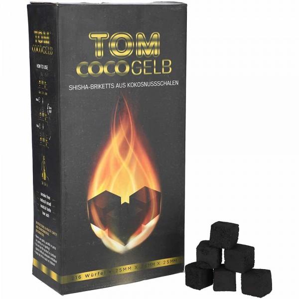 Tom Coco Gelb Kokoskohle 3Kg