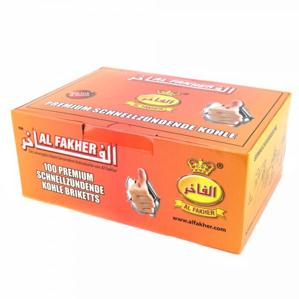 Al Fakher 40mm Premium Schnellzünder Box