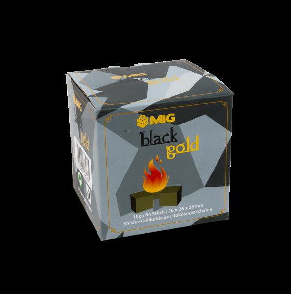 """MIG Kohle """"Black Gold 26mm"""" 1Kg"""